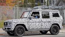 2019 Mercedes-Benz G-Class spy photo