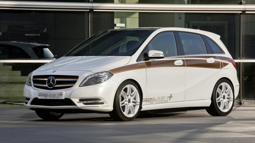 Mercedes B-Class range-extended EV coming to U.S. - report