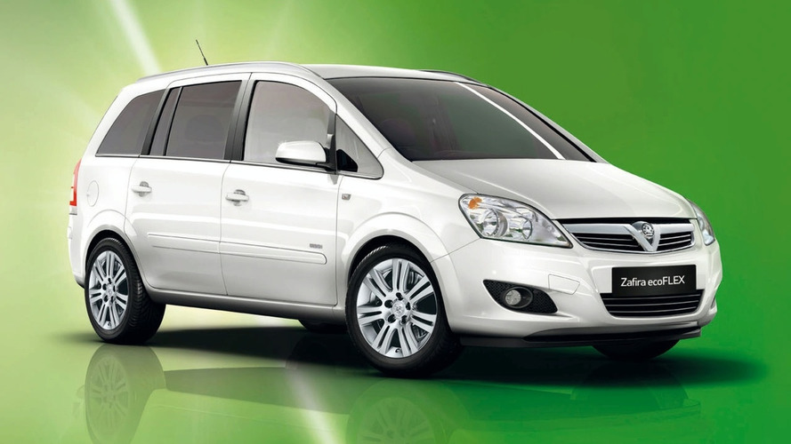Vauxhall Announces New Zafira ecoFLEX Model (UK)
