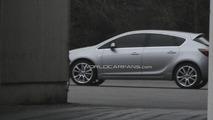 2010 Opel Astra spy photo - raw image
