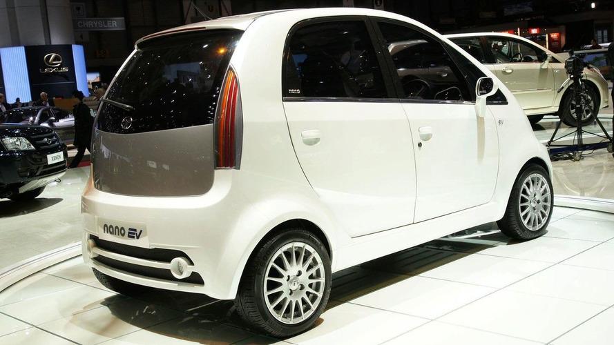 Tata Nano EV in Geneva; On Sale in 2012