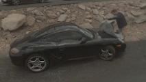Porsche spy photos by Google Street