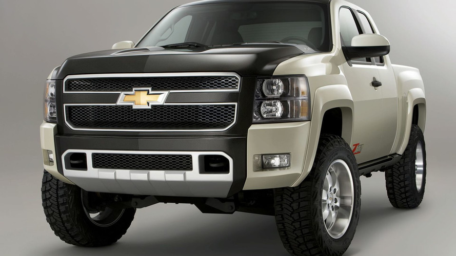 Chevrolet Silverado ZR2 concept Presented at SEMA