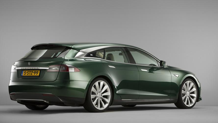 La Tesla Model S Shooting Brake prête à prendre la route