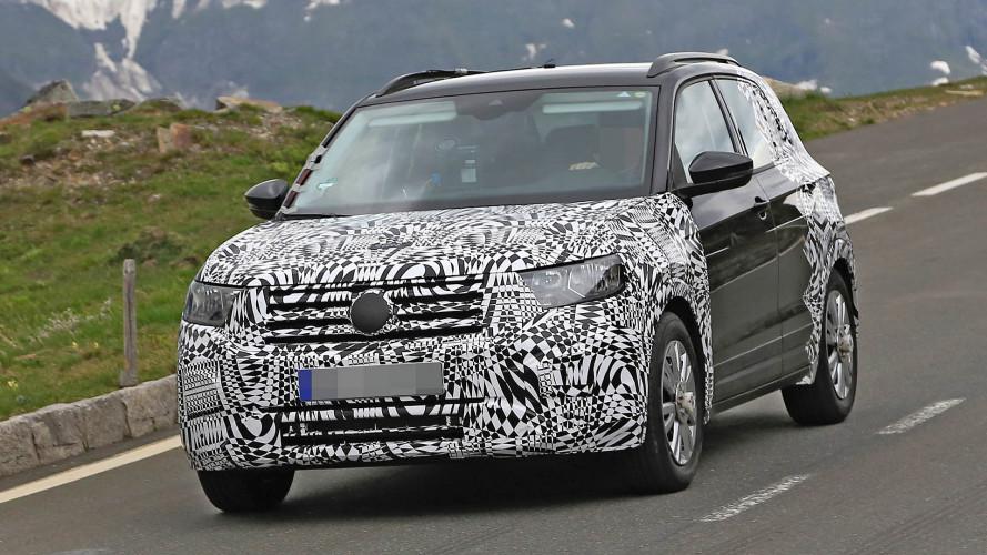 Erwischt: VW T-Cross