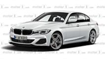 2019 BMW 3 Series render