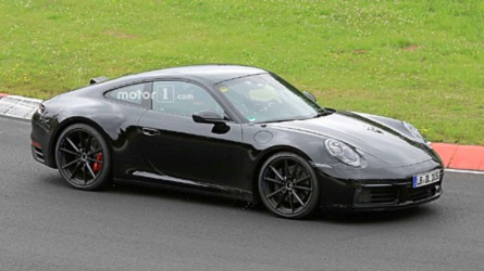 Next Porsche 911 Spied Looking Smooth On The 'Ring