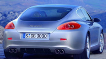 Porsche Panamera Spy Illustration