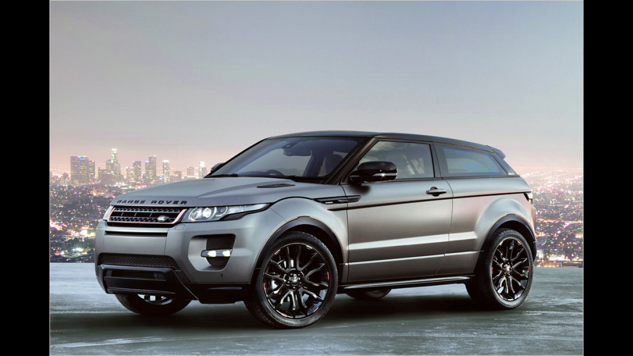 Range Rover Evoque by Victoria Beckham