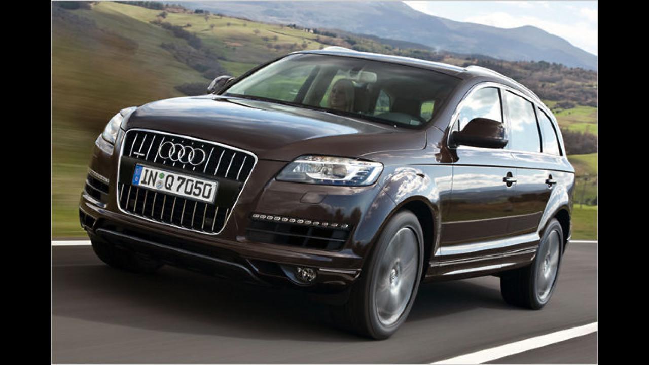 Platz fünf: Audi Q7