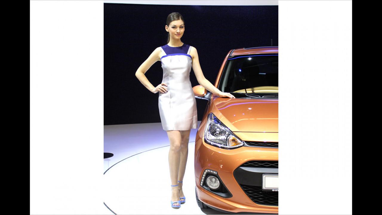 Hyundai hat besonders schöne Exponate dabei