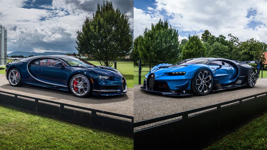 Bugatti Chiron showcar and Vision Gran Turismo concept sold to Saudi prince