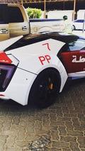 Lykan Hypersport for Abu Dhabi police