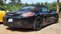 Porsche Boxster facelift spy photo