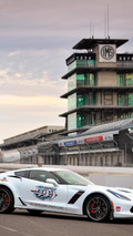 Corvette Z06 pace car unveiled for the 2015 Indy 500