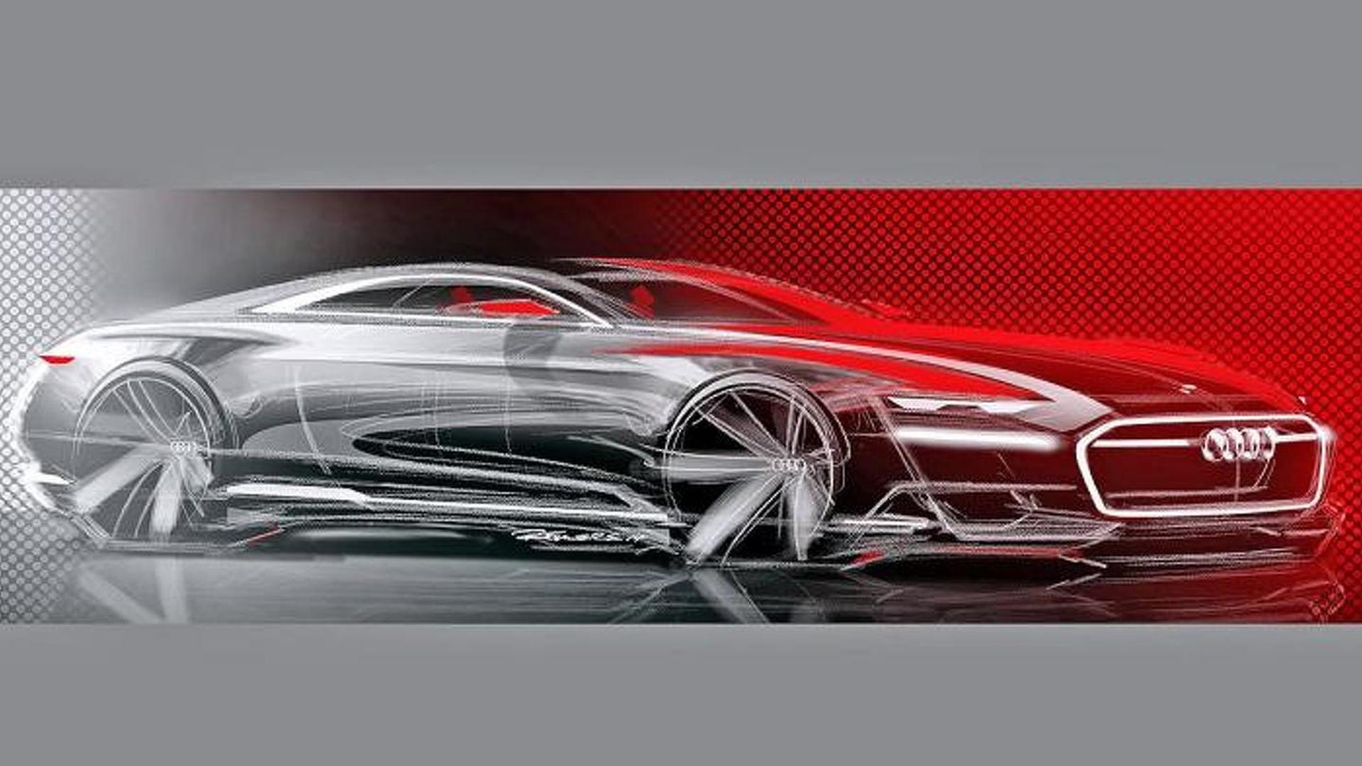 Официальный скетч Audi Prologue
