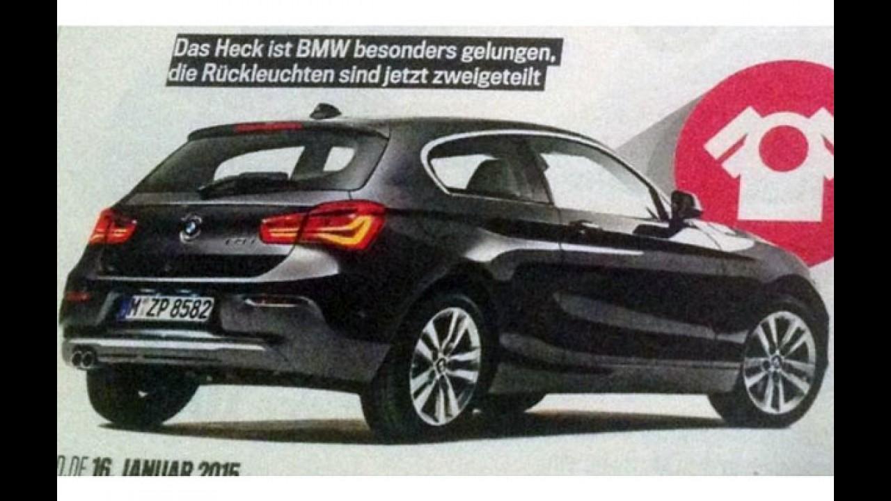 Escapou! BMW divulga vídeo-teaser e novo Série 1 aparece antes da hora