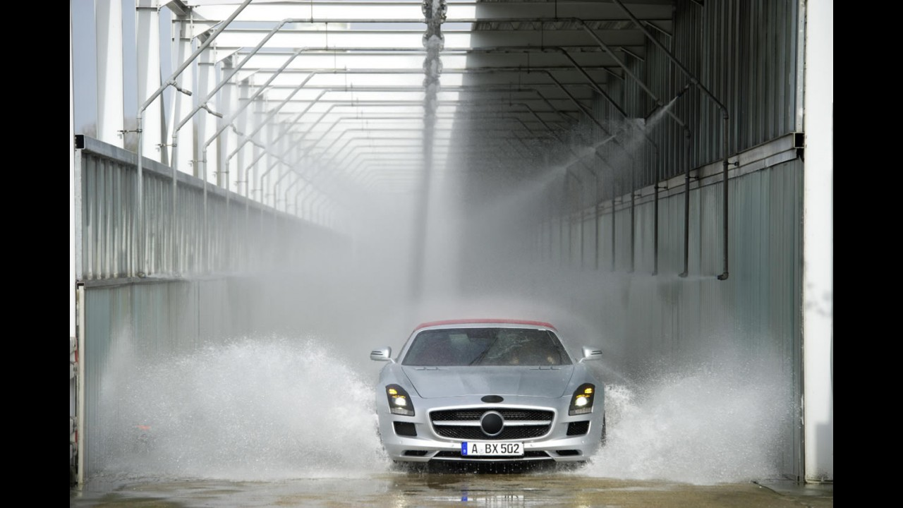 Mercedes-Benz divulga imagens oficiais do SLS Roadster