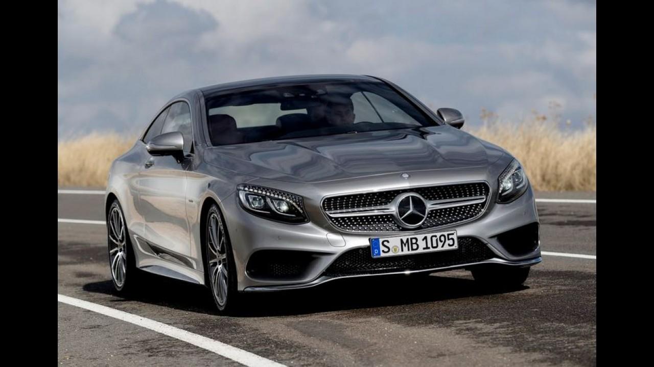 Após imagens, vídeos mostram detalhes do belíssimo Mercedes S Coupé