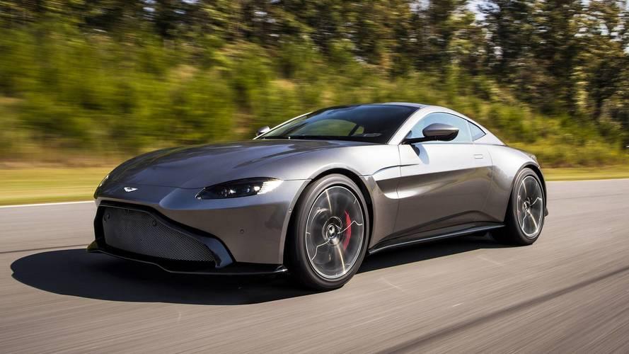 Aston Martin Vantage Volante convertible rendered