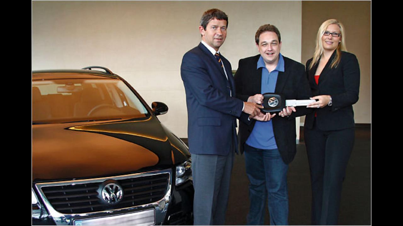 Oliver Kalkofe: VW Passat Variant 2.0 TDI