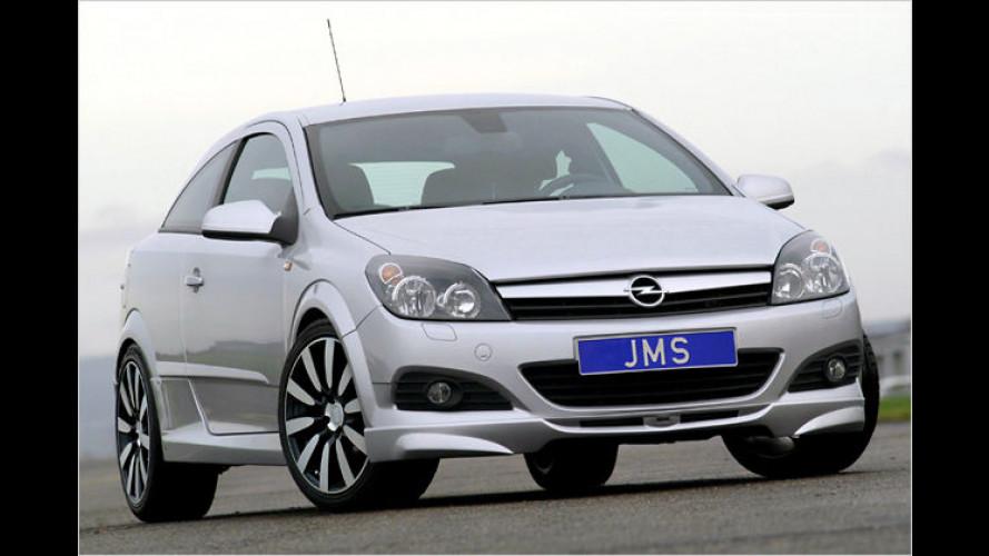 JMS verpasst dem Opel Astra GTC ein Racelook-Bodykit