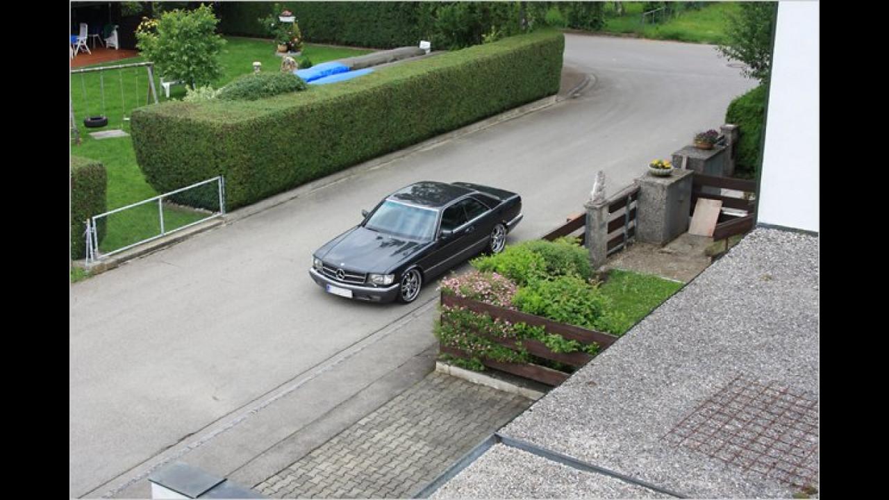 ,Das ist das Auto von meinem Nachbarn