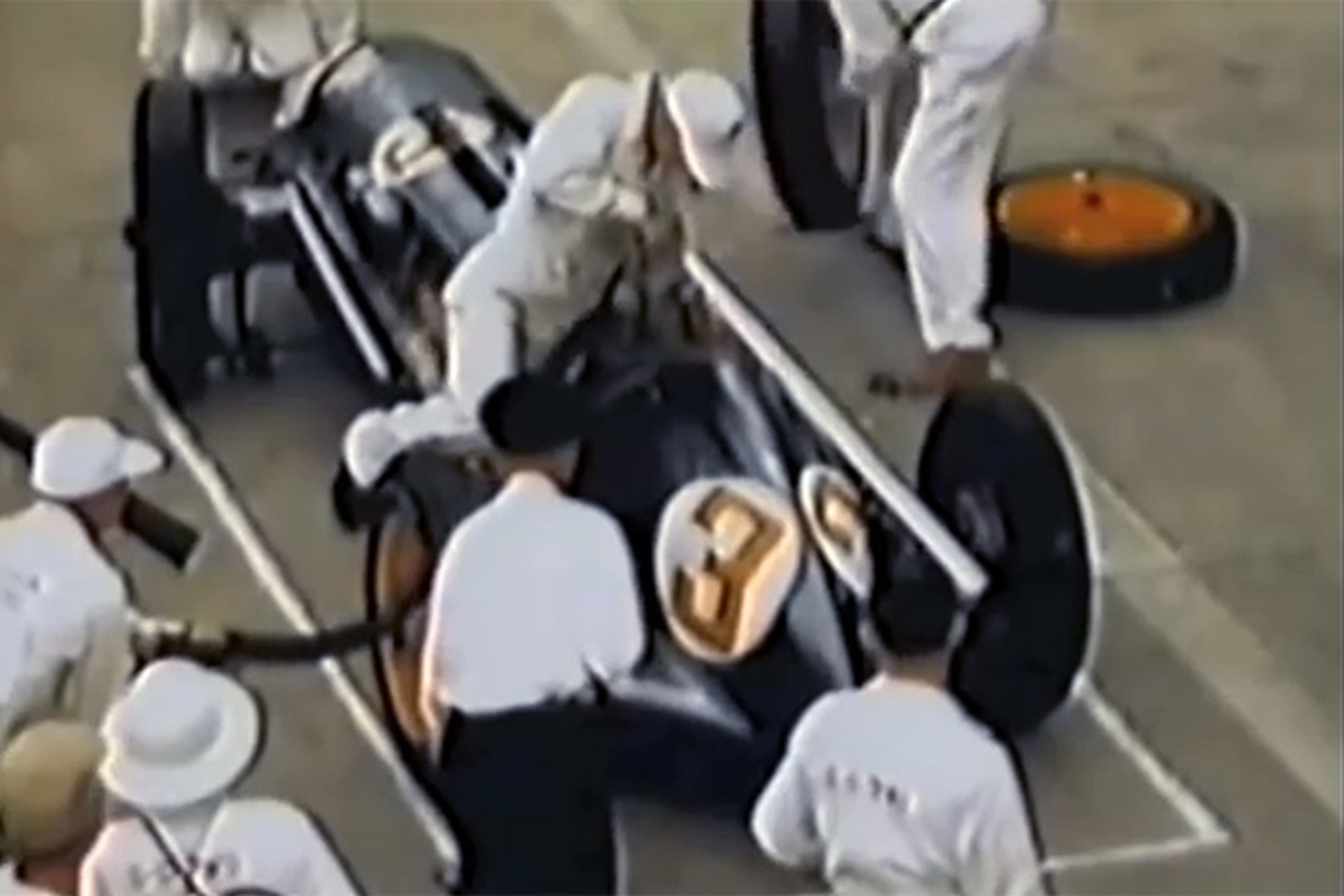 Watch An Open-Wheel Racing Pit Stop Then And Now [Video]