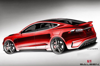 Saleen Shows Off First Sketches of Custom Tesla, Promises Summer Arrival
