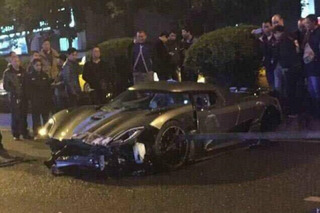 Watch a Koenigsegg Agera R in What May Be Most Expensive Crash Ever