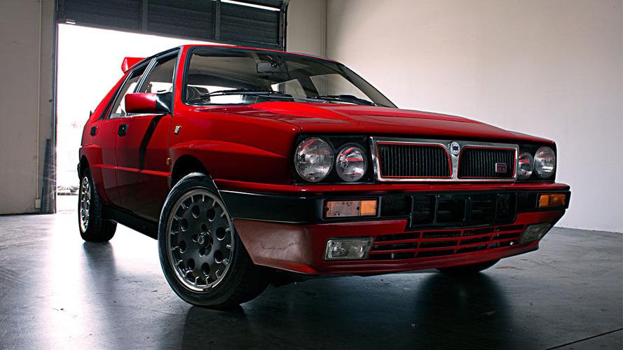 For sale: Two pristine Lancia Delta HF Integrales