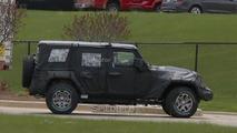 2018 Jeep Wrangler spy photo