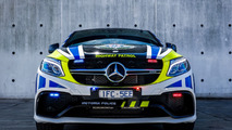 Mercedes-AMG GLE 63 S Coupe operational highway patrol car