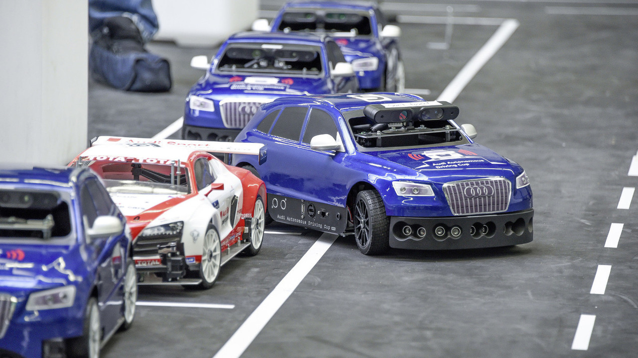 Audi Autonomous Driving Cup