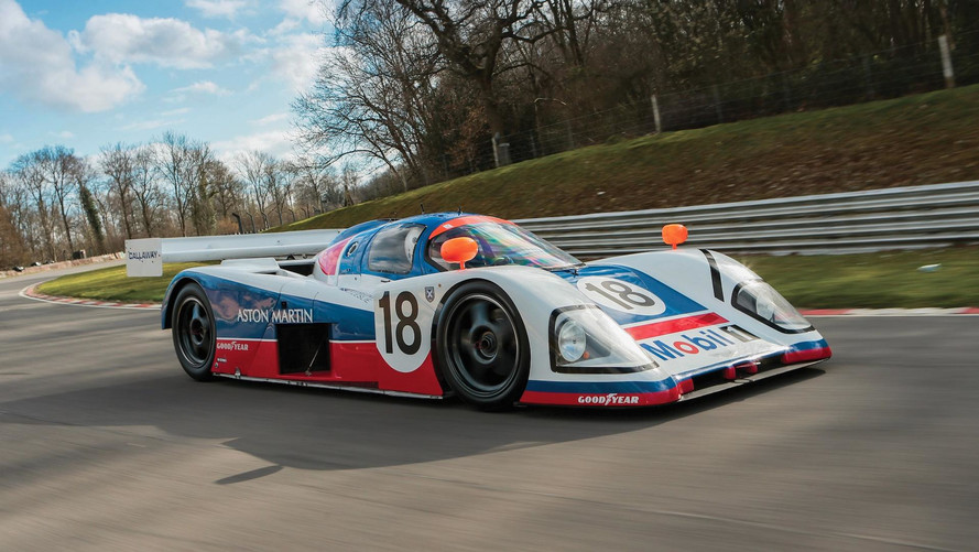 3 Rare Aston Martin Racers Sell At Auction In Monterey [UPDATE]