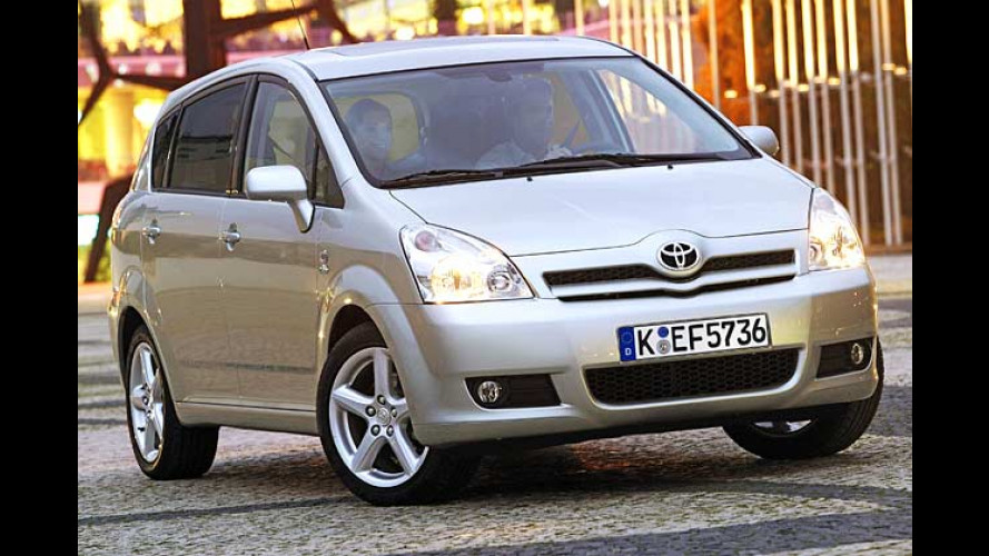 Corolla Verso 2.2 D-CAT: Großer Diesel im Kompakt-Van