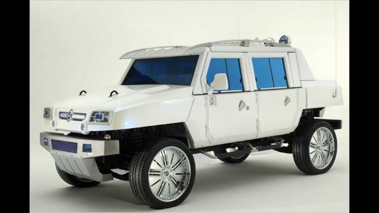 Fiats Soldaten-Hummer