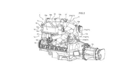 Mazda çift turbolu elektrik süperşarjlı motorun patentini aldı