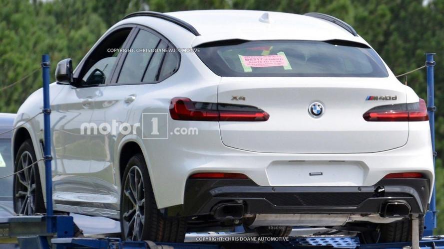 Nuova BMW X4, svelata dalle foto spia