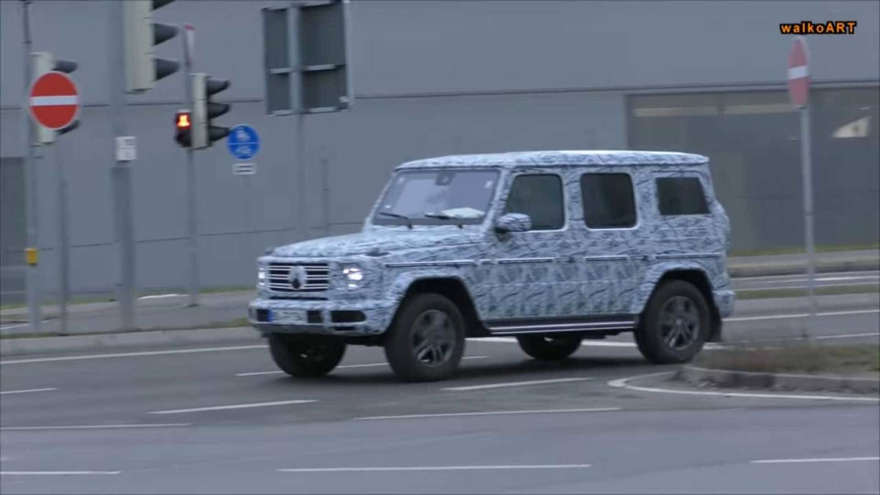 2018 Mercedes-Benz G-Class spy shot