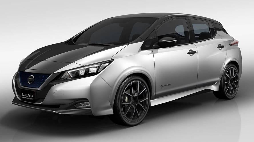 A Nissan Leaf Grand Touring tanulmány is ott lesz a Tokiói Autószalonon