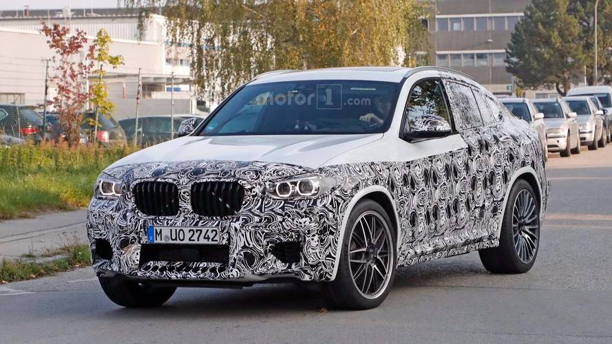 2019 BMW X4 M Spied Testing In Germany
