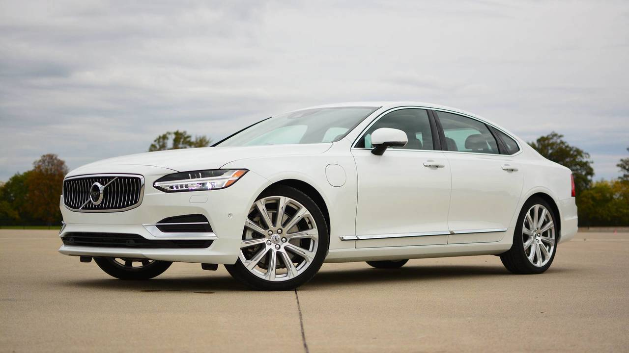 2018 Volvo S90 T8 Review Efficiency Done With Style