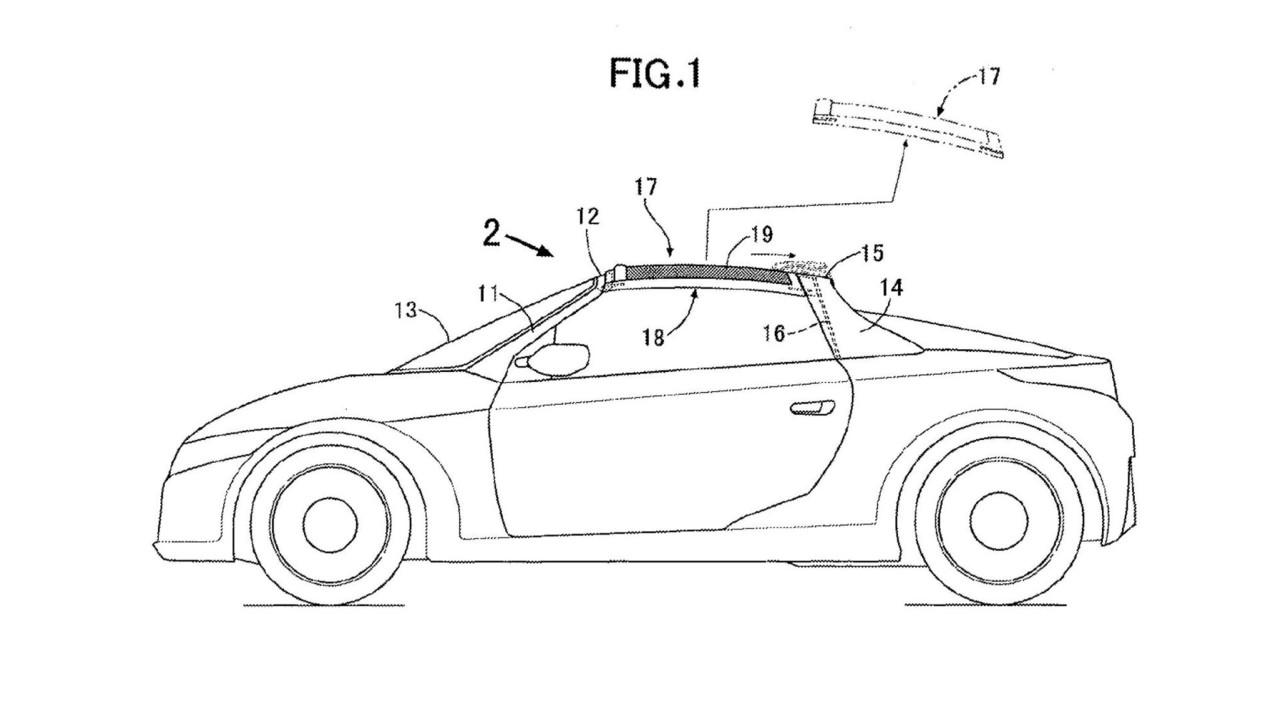 Honda Targa Roof Patent