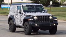 Jeep Wrangler konvoy casus foto