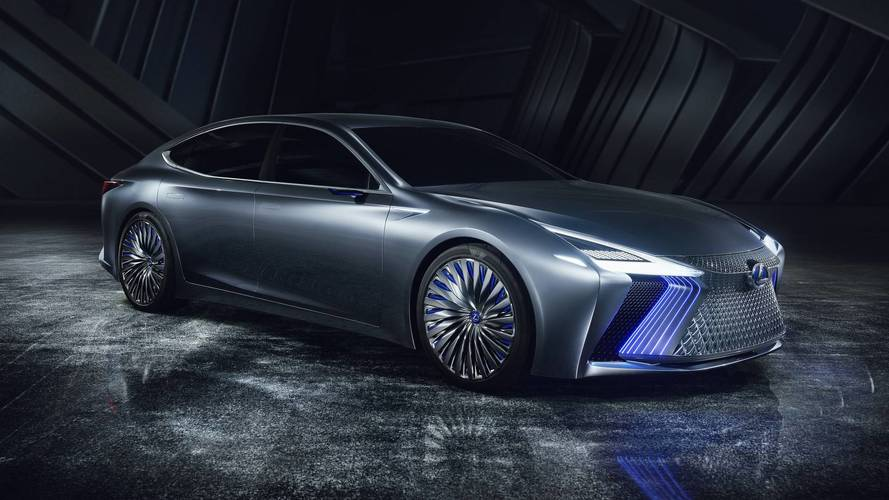 Lexus LS+ concept, el futuro buque insignia de la marca