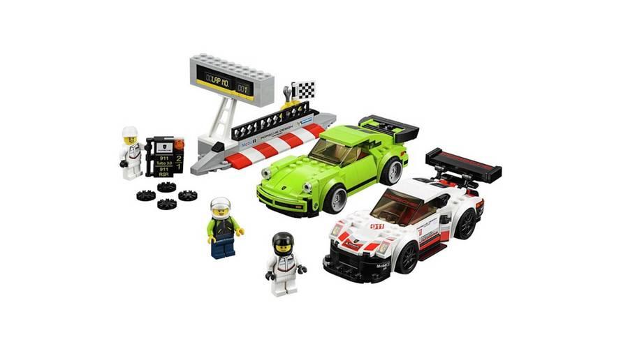 Porsche 911 RSR y 911 Turbo: las últimas creaciones de Lego, en vídeo