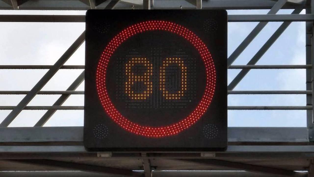 Mesure 5 - Réduire la vitesse de 90 à 80 km/h