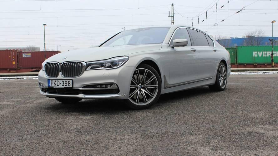BMW 750Ld Individual teszt
