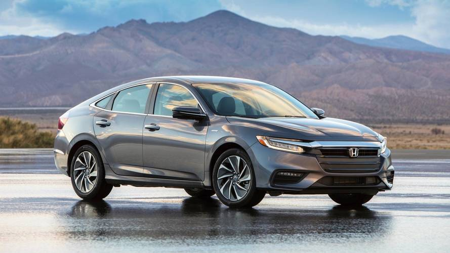 Honda Insight production form revealed with 151hp